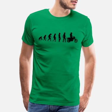 Motorcycle Evolution Evolution motorcycle - Men's Premium T-Shirt