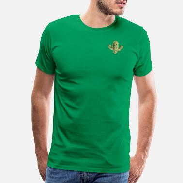 Sad Cactus Cactus - Men's Premium T-Shirt