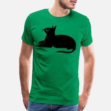 Sphinx siamese cat sphinx beautiful sitting - Men's Premium T-Shirt