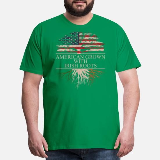 1e31dec785683 Front. Back. Back. Design. Front. Front. Back. Design. Front. Front. Back.  Back. Irish T-Shirts - American grown with irish roots - Men's Premium ...