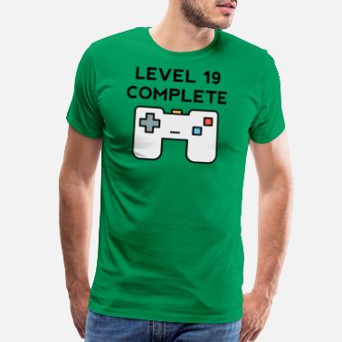 19th Birthday Level 19 Complete 19th Birthday - Men's Premium T-Shirt