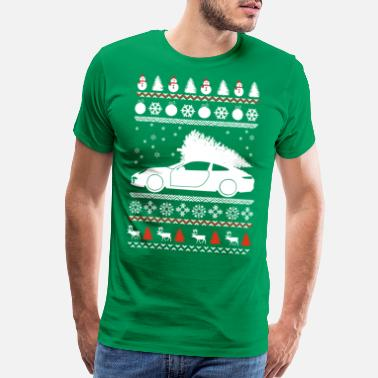 Ugly Sports ugly christmas sports car - Men's Premium T-Shirt