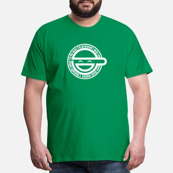 Laughing Man Ghost In The Shell Men S Premium T Shirt Spreadshirt