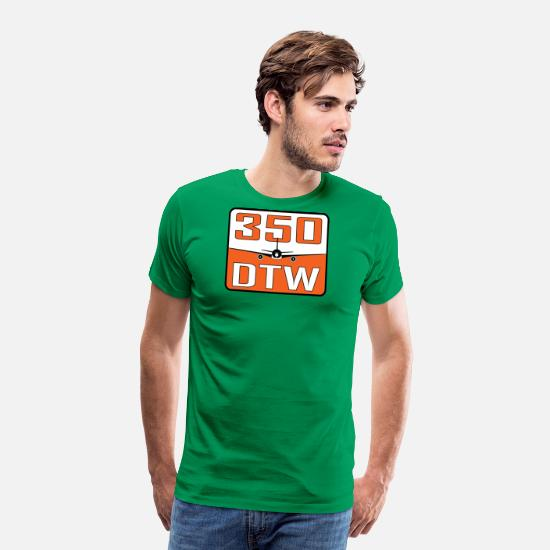 Pilot T-Shirts - DTW 350 - Men's Premium T-Shirt kelly green