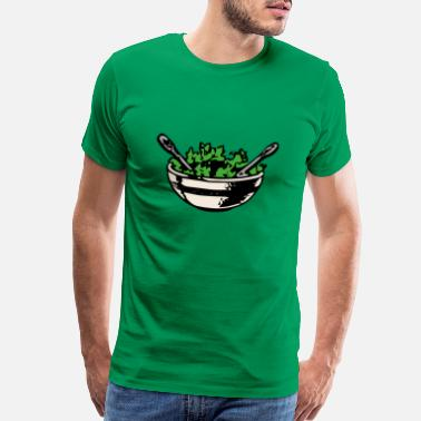 Salad salat salad lettuce halloween gemuese vegetables36 - Men's Premium T-Shirt