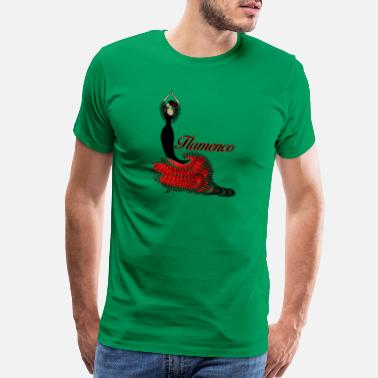 Matador Flamenco dancer 2 - Men's Premium T-Shirt