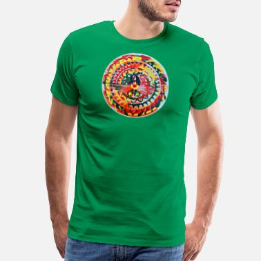 Bob Bob Marley One Love Mandala - Men's Premium T-Shirt