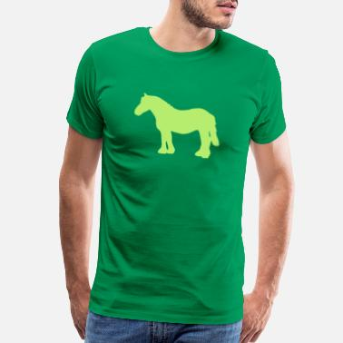 Cold Blood cold-blooded horse - Men's Premium T-Shirt