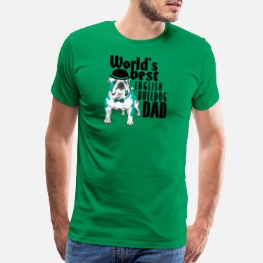 Nrl English Bulldog Dad - Men's Premium T-Shirt