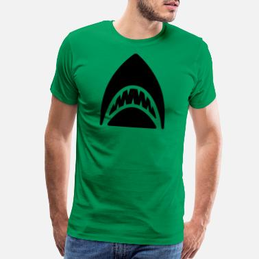 Fins Shark - Shark Fin - Men's Premium T-Shirt