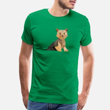 Bright Colors Cool Dog - Men's Premium T-Shirt
