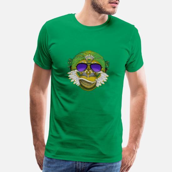 Männer SWAG Nerd Shirt Cooles Hipster Herren T-Shirt mit Tattoo Eule