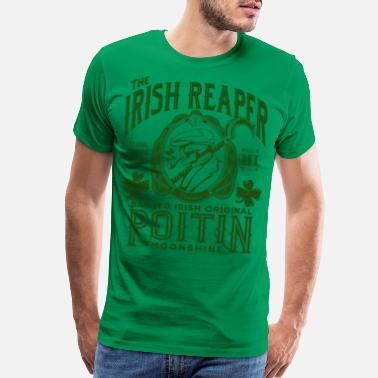 Moonshine The Irish Reaper Poitin - Men's Premium T-Shirt
