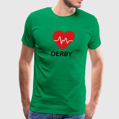 Heart Derby - Men's Premium T-Shirt