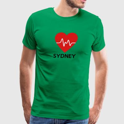 Heart Sydney - Men's Premium T-Shirt