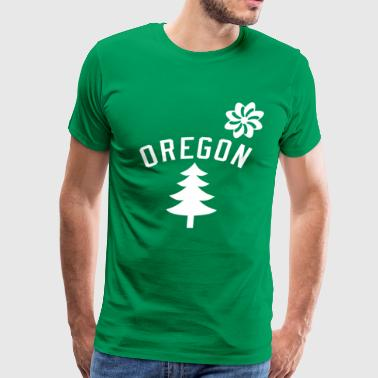 Oregon - Dave Grohl  - Men's Premium T-Shirt