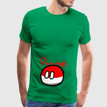 Polandball - Men's Premium T-Shirt