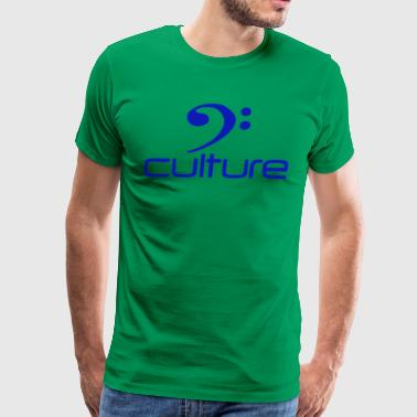 BASS CULTURE T SHIRT Reggae Dub Guitar Sound Syst - Men's Premium T-Shirt