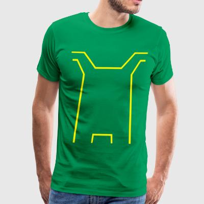Kick-Ass Costume - Men's Premium T-Shirt