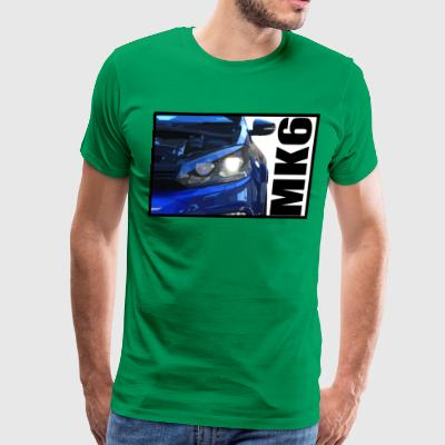 Golf R Headlight (long) - Men's Premium T-Shirt