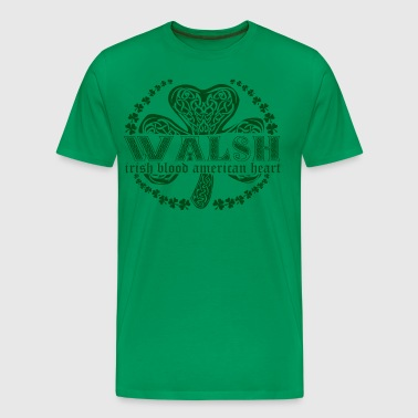 irish family name surname walsh - Men's Premium T-Shirt