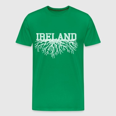 Ireland Irish Ancestry Rooted Roots Clothing Tees - Men's Premium T-Shirt
