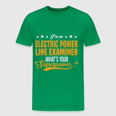 Electric Power Line Examiner - Men's Premium T-Shirt