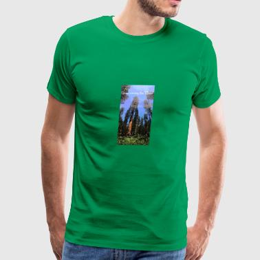 Gaze among the Trees - Men's Premium T-Shirt