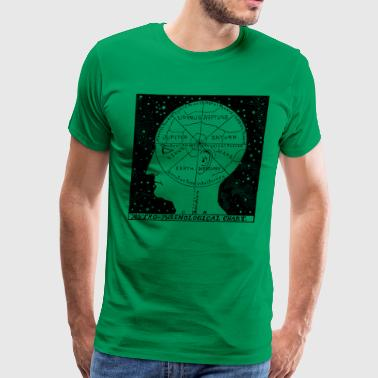 Astro Phrenological Chart - Men's Premium T-Shirt