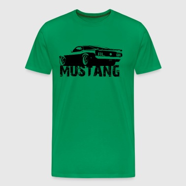 Mustang Rear 2 - Men's Premium T-Shirt