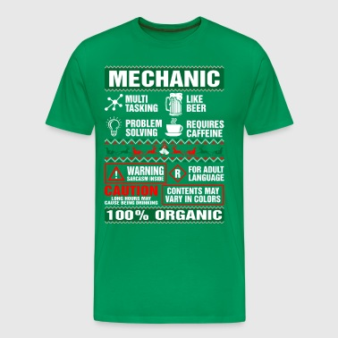 Mechanic Like Beer - Men's Premium T-Shirt