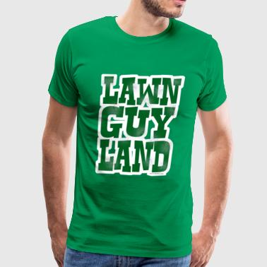 Lawn Guy Land New York - Men's Premium T-Shirt
