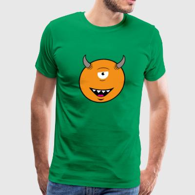 Cyclope Smiley T Shirt - Men's Premium T-Shirt