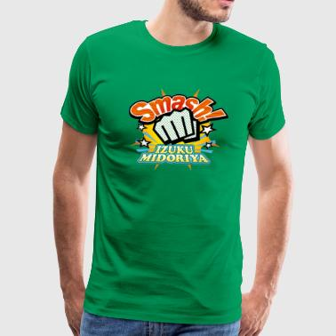 Izuku Midoriya Smash - Men's Premium T-Shirt