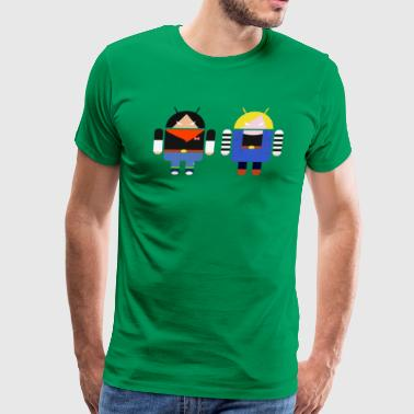 ANDROIDS - Men's Premium T-Shirt