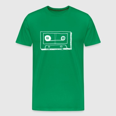 tape. retro. - Men's Premium T-Shirt