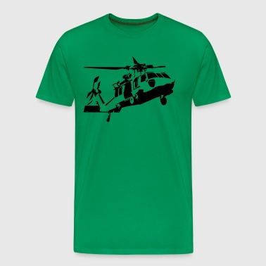 helicopter - Men's Premium T-Shirt