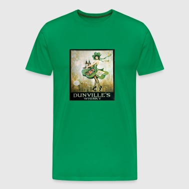 vintage Irish whiskey - Men's Premium T-Shirt