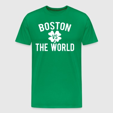 Boston vs. The World SPD - Men's Premium T-Shirt