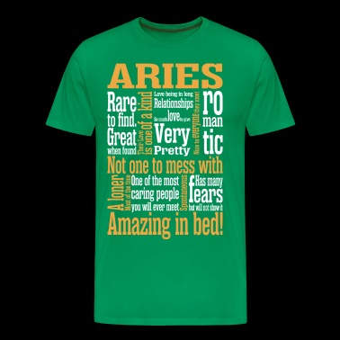 Aries Amazing In Bed - Men's Premium T-Shirt