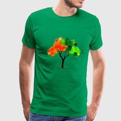 abstract tree - Men's Premium T-Shirt