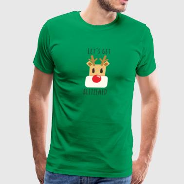 Rudolf red-nosed reindeer - Men's Premium T-Shirt
