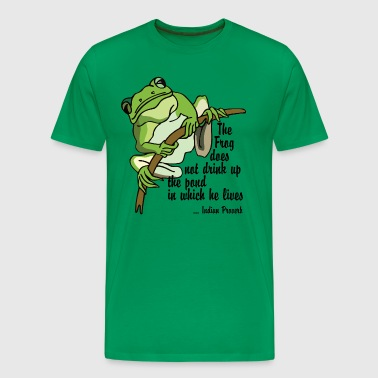 Earth Day Quote - Men's Premium T-Shirt