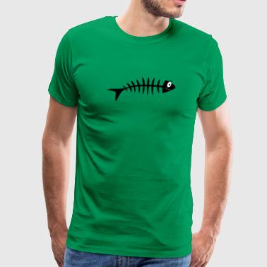 Fishbone Comic T Shirt - Men's Premium T-Shirt