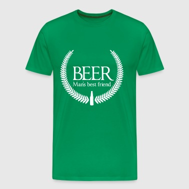 Beer. Man's Best Friend - Men's Premium T-Shirt