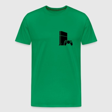 Logo PS4 - Men's Premium T-Shirt