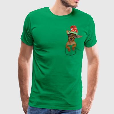 Is that a chaweenie in your pocket? - Men's Premium T-Shirt