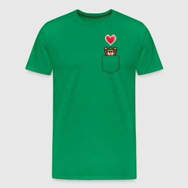 Zelda Extra Heart Pocket - Men's Premium T-Shirt