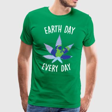 Earth Day Hemp - Men's Premium T-Shirt
