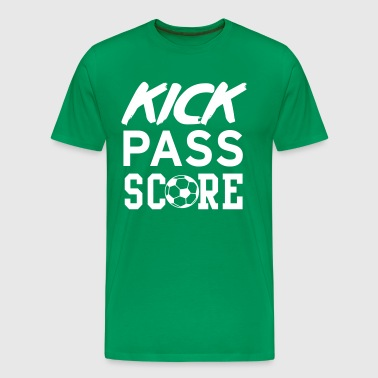 Kick pass score - Men's Premium T-Shirt